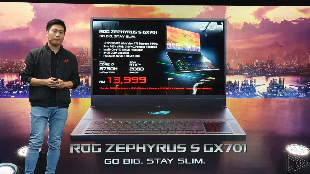 The Asus ROG Zephyrus S Is a Slim, Premium RTX 2080 Gaming Laptop